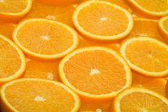 Orange party. 3 Stock Photography