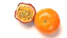 Orange and passionfruit Royalty Free Stock Image