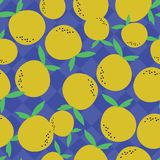 Orange pattern with diamond background vector illustration