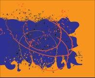Orange pattern Royalty Free Stock Photos
