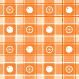 Orange pattern Royalty Free Stock Photography