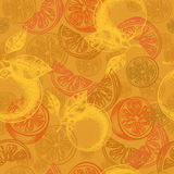 Orange pattern Stock Images