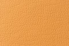 Orange Patterned Artificial Leather Texture Royalty Free Stock Photo