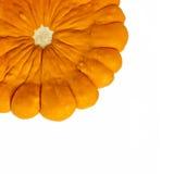 Orange pattypan Kürbis stockfotos