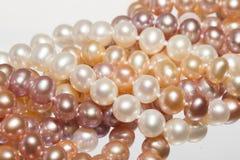 Orange pearl Stock Images