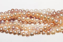Orange pearl Stock Photos