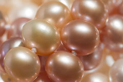 Orange pearl Royalty Free Stock Photos