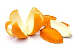 orange peel Arkivfoton