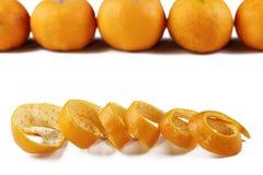 Orange peel Stock Photography