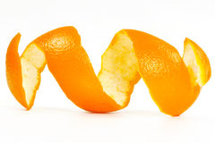 orange peel Arkivbilder