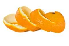 orange peel royaltyfri bild