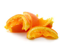 Orange peel Royalty Free Stock Image