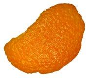 Orange peel isolated Royalty Free Stock Photo