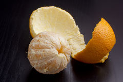 Orange peel Royalty Free Stock Photography