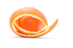 Orange into the peel Royalty Free Stock Photography