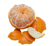 Orange peeled Stock Photo