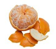 Orange peeled Stock Photo