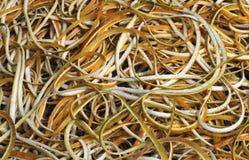 Orange Peels Stock Photo