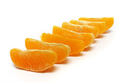 Orange Peels Stock Image