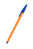 Orange pen Royalty Free Stock Photos