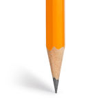 Orange pencil Stock Image