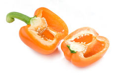 orange peppar Royaltyfria Bilder