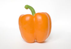 Orange pepper Stock Photography
