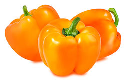 Free Orange Pepper Isolated On The White Stock Photography - 80920332