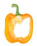 Orange pepper Stock Photography