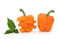 Orange Peppers Royalty Free Stock Photo