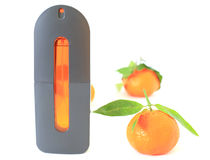 Orange perfume Royalty Free Stock Image