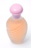Orange perfume bottle Royalty Free Stock Photo