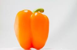 Orange Pfeffer Stockfotografie