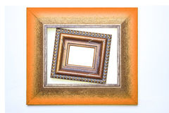 Orange Picture Frame Stock Photos