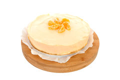 Orange pie Stock Image