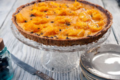 Orange pie Royalty Free Stock Photos