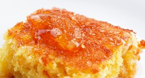 Orange Pie Royalty Free Stock Photography