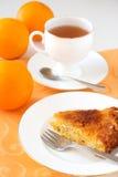 Orange pie Stock Photos