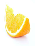 Orange piece Stock Photography