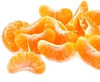 Orange pieces Royalty Free Stock Image