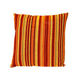 Orange pillow Stock Photo