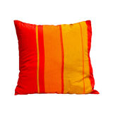 Orange pillow Stock Images