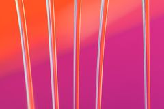 Orange and pink background Stock Images