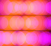 Orange-pink banners Stock Photography