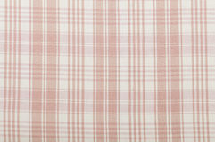 Orange pink fabric Stock Image