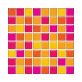 Orange and pink glass tiles Royalty Free Stock Photography