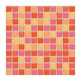 Orange and pink glass tiles Royalty Free Stock Photos