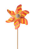 Orange pinwheel Royalty Free Stock Photography