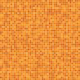 Orange Pixelmosaikhintergrund Lizenzfreie Stockfotografie