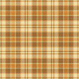 Orange plaid Royalty Free Stock Image